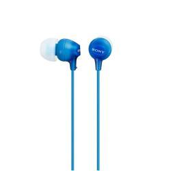 Oreillettes Sony MDR-EX15LP - EX Series - écouteurs - intra-auriculaire - jack 3,5mm - bleu
