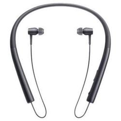 Sony h.ear in MDR-EX750BT - Écouteurs avec micro - intra-auriculaire - montage derrière le cou - sans fil - Bluetooth - NFC* - noir charbon