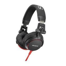 Casque Sony MDR-V55 - Casque - pleine taille - jack 3,5mm - rouge