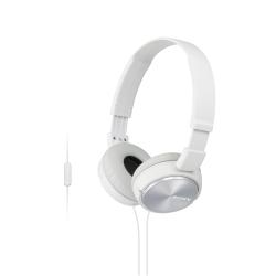 Sony MDR-ZX310AP - ZX Series - casque avec micro - pleine taille - jack 3,5mm - blanc