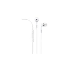 Apple In-Ear Headphones with Remote and Mic - Écouteurs avec micro - intra-auriculaire - jack 3,5mm - pour 12.9-inch iPad Pro; 9.7-inch iPad Pro; iPad (3rd generation); iPad 1; 2; iPad Air; iPad Air 2; iPad mini; iPad mini 2; 3; 4; iPad with Retina display; iPhone 3G, 3GS, 4, 4S, 5, 5c, 5s, 6, 6 Plus, 6s, 6s Plus, SE; iPod (4G, 5G); iPod classic; iPod mini; iPod nano; iPod shuffle; iPod touch