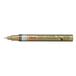 Pentel Paint - Feutre fin - permanent - or - encre pigmentée à huile - 0.7 mm - extra fin