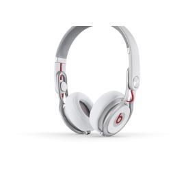 Beats Mixr - Casque - pleine taille - blanc - pour 12.9-inch iPad Pro; 9.7-inch iPad Pro; iPad (3rd generation); iPad 1; 2; iPad Air; iPad Air 2; iPad mini; iPad mini 2; 3; 4; iPad with Retina display; iPhone 3G, 3GS, 4, 4S, 5, 5c, 5s, 6, 6 Plus, 6s, 6s Plus, SE; iPod (4G, 5G); iPod classic; iPod mini; iPod nano; iPod shuffle; iPod touch