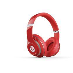 Beats by Dr. Dre Studio - Casque avec micro - pleine taille - sans fil - Bluetooth - Suppresseur de bruit actif - rouge - pour 12.9-inch iPad Pro; 9.7-inch iPad Pro; iPad (3rd generation); iPad 1; 2; iPad Air; iPad Air 2; iPad mini; iPad mini 2; 3; 4; iPad with Retina display; iPhone 3G, 3GS, 4, 4S, 5, 5c, 5s, 6, 6 Plus, 6s, 6s Plus, SE; iPod (4G, 5G); iPod classic; iPod mini; iPod nano; iPod shuffle; iPod touch