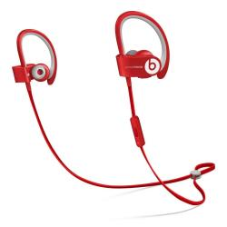 Beats Powerbeats2 Wireless - Écouteurs avec micro - intra-auriculaire - montage sur l'oreille - sans fil - Bluetooth - rouge - pour 12.9-inch iPad Pro; 9.7-inch iPad Pro; iPad (3rd generation); iPad 1; 2; iPad Air; iPad Air 2; iPad mini; iPad mini 2; 3; 4; iPad with Retina display; iPhone 3GS, 4, 4S, 5, 5c, 5s, 6, 6 Plus, 6s, 6s Plus, SE; iPod nano (7G); iPod touch; Watch; Watch Edition; Watch Hermès; Watch Sport