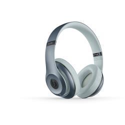 Beats by Dr. Dre Studio - Casque avec micro - pleine taille - sans fil - Bluetooth - Suppresseur de bruit actif - argent�(e) - pour 12.9-inch iPad Pro; 9.7-inch iPad Pro; iPad (3rd generation); iPad 1; 2; iPad Air; iPad Air 2; iPad mini; iPad mini 2; 3; 4; iPad with Retina display; iPhone 3GS, 4, 4S, 5, 5c, 5s, 6, 6 Plus, 6s, 6s Plus, SE; iPod nano (7G); iPod touch; TV; Watch; Watch Edition; Watch Herm�s; Watch Sport