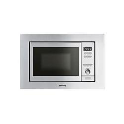 Micro ondes Smeg MI20X-1 - Four micro-ondes grill - int�grable - 20 litres - 700 Watt - inox