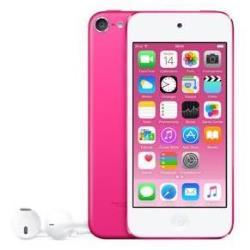 Lecteur MP3 Apple iPod touch - 6ème génération - lecteur numérique - Apple iOS 8 - 32 Go -écran: 4 po - rose