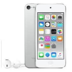 Lecteur MP3 Apple iPod touch - 6ème génération - lecteur numérique - Apple iOS 8 - 32 Go -écran: 4 po - argenté(e)