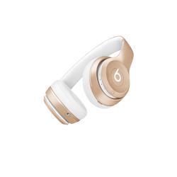 Beats by Dr. Dre Solo2 - Casque avec micro - sur-oreille - sans fil - Bluetooth - or - pour 12.9-inch iPad Pro; 9.7-inch iPad Pro; iPad (3rd generation); iPad 1; 2; iPad Air; iPad Air 2; iPad mini; iPad mini 2; 3; 4; iPad with Retina display; iPhone 3GS, 4, 4S, 5, 5c, 5s, 6, 6 Plus, 6s, 6s Plus, SE; iPod nano (7G); iPod touch; TV; Watch; Watch Edition; Watch Herm�s; Watch Sport