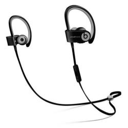 Beats Powerbeats2 Wireless - �couteurs avec micro - intra-auriculaire - montage sur l'oreille - sans fil - Bluetooth - noir - pour 12.9-inch iPad Pro; 9.7-inch iPad Pro; iPad (3rd generation); iPad 1; 2; iPad Air; iPad Air 2; iPad mini; iPad mini 2; 3; 4; iPad with Retina display; iPhone 3GS, 4, 4S, 5, 5c, 5s, 6, 6 Plus, 6s, 6s Plus, SE; iPod nano (7G); iPod touch; TV; Watch; Watch Edition; Watch Herm�s; Watch Sport