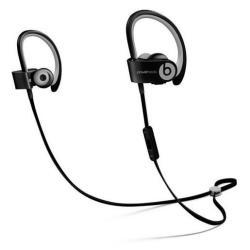Beats Powerbeats2 Wireless - Écouteurs avec micro - intra-auriculaire - montage sur l'oreille - sans fil - Bluetooth - noir - pour 12.9-inch iPad Pro; 9.7-inch iPad Pro; iPad (3rd generation); iPad 1; 2; iPad Air; iPad Air 2; iPad mini; iPad mini 2; 3; 4; iPad with Retina display; iPhone 3GS, 4, 4S, 5, 5c, 5s, 6, 6 Plus, 6s, 6s Plus, SE; iPod nano (7G); iPod touch; TV; Watch; Watch Edition; Watch Hermès; Watch Sport