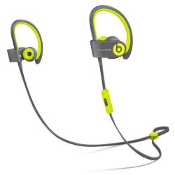 Beats Powerbeats2 - Active Collection - �couteurs avec micro - intra-auriculaire - montage sur l'oreille - sans fil - Bluetooth - isolation acoustique - jaune - pour 12.9-inch iPad Pro; 9.7-inch iPad Pro; iPad (3rd generation); iPad 1; 2; iPad Air; iPad Air 2; iPad mini; iPad mini 2; 3; 4; iPad with Retina display; iPhone 3GS, 4, 4S, 5, 5c, 5s, 6, 6 Plus, 6s, 6s Plus, SE; iPod nano (7G); iPod touch; TV; Watch; Watch Edition; Watch Herm�s; Watch Sport
