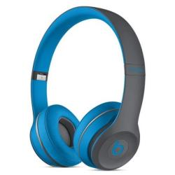 Beats Solo2 Wireless - Casque - sur-oreille - sans fil - Bluetooth - bleu - pour iPad (3rd generation); iPad 1; 2; iPad Air; iPad Air 2; iPad mini; iPad mini 2; 3; 4; iPad Pro; iPad with Retina display; iPhone 3G, 3GS, 4, 4S, 5, 5c, 5s, 6, 6 Plus, 6s, 6s Plus; iPod touch (1G, 2G, 3G, 4G, 5G, 6G)