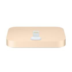 Chargeur Apple iPhone Lightning Dock - Station d'accueil - or - pour iPhone 5, 5c, 5s, 6, 6 Plus, 6s, 6s Plus, SE; iPod touch (5G, 6G)