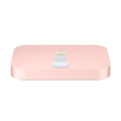 Chargeur Apple iPhone Lightning Dock - Station d'accueil - or rose - pour iPhone 5, 5c, 5s, 6, 6 Plus, 6s, 6s Plus, SE; iPod touch (5G, 6G)