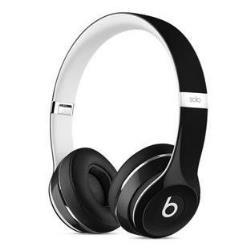 Beats by Dr. Dre Solo2 - Édition de luxe - casque avec micro - sur-oreille - jack 3,5mm - noir - pour 12.9-inch iPad Pro; 9.7-inch iPad Pro; iPad mini 2; 4; iPhone 6s, SE