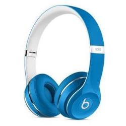 Beats by Dr. Dre Solo2 - Édition de luxe - casque avec micro - sur-oreille - jack 3,5mm - bleu - pour 12.9-inch iPad Pro; 9.7-inch iPad Pro; iPad mini 2; 4; iPhone 6s, SE
