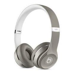 Beats by Dr. Dre Solo2 - Édition de luxe - casque avec micro - sur-oreille - jack 3,5mm - argenté(e) - pour 12.9-inch iPad Pro; 9.7-inch iPad Pro; iPad mini 2; 4; iPhone 6s, SE