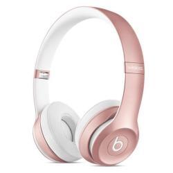 Beats Solo2 - Casque avec micro - sur-oreille - sans fil - Bluetooth - or rose - pour Apple iPad 1; 2; 3; iPad Air; iPad Air 2; iPad mini; iPad mini 2; 3; 4; iPad Pro; iPad with Retina display; iPhone 3G, 3GS, 4, 4S, 5, 5c, 5s, 6, 6 Plus, 6s, 6s Plus; iPod (4G, 5G); iPod classic; iPod mini; iPod nano; iPod shuffle (1G, 2G, 3G, 4G); iPod touch (1G, 2G, 3G, 4G, 5G, 6G)