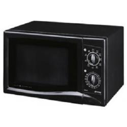 Micro ondes Smeg MM181N - Four micro-ondes grill - pose libre - 18 litres - 750 Watt - noir