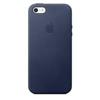 Cover Apple - MMHG2ZM/A  per  iPhone 5/5S Pelle Blu