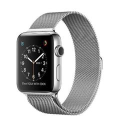 Smartwatch Apple - Serie 2 38mm Color Acciaio