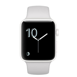 Smartwatch Apple Watch Edition Series 2 - 38 mm - céramique blanche - montre intelligente avec bande sport - cloud - taille S/M/L - Wi-Fi, Bluetooth - 39.6 g