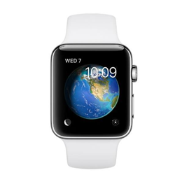 Smartwatch Apple - Serie 2 42mm Cinturino Acciaio Bianco Sport
