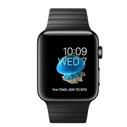 Smartwatch Apple - Serie 2 42mm Nero Bracciale Nero Sideral