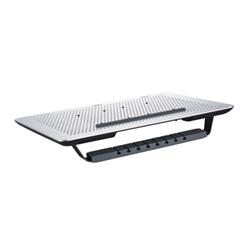 """Support pour LCD CoolerMaster MasterNotepal Series - Ventilateur d'ordinateur portable - 17"""" - 80 mm - noir, argenté(e)"""