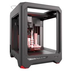 Imprimante 3D MakerBot Replicator Mini+ - Imprimante 3D - FDM - taille de construction jusqu'à 126 x 126 x 101 mm - couche : 100 µm - USB, Wi-Fi(n)