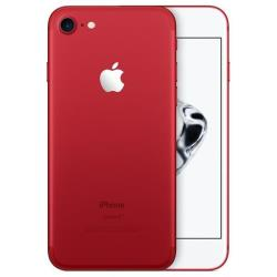 "Smartphone Apple iPhone 7 - (PRODUCT) RED Special Edition - smartphone - 4G LTE Advanced - 128 Go - GSM - 4.7"" - 1334 x 750 pixels (326 ppi) - Retina HD - 12 MP (caméra avant 7 MP) - rouge mat"