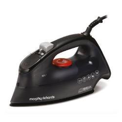 Fer à repasser Morphy Richards Breeze 300260 - Fer à vapeur - semelle : céramique - 2400 Watt - noir avec fermeture automatique