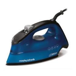 Fer à repasser Morphy Richards Breeze 300261 - Fer à vapeur - semelle : céramique - 2400 Watt - bleu