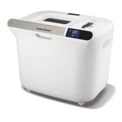Machine à pain Morphy Richards 48326 - Machine à pain - 600 Watt - blanc