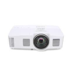 Vidéoprojecteur Acer S1283Hne - Projecteur DLP - 3D - 3100 lumens - XGA (1024 x 768) - 4:3 - Objectif fixe de courte portée - LAN