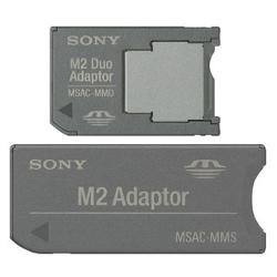 Sony MSAC-MMDS - Adaptateur de carte (MS Micro) - pour P/N: MS-A256D, MS-A512D