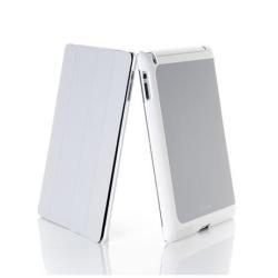 Coque Muvit Stylish Smartcase - Étui pour tablette - gris - pour Apple iPad (3ème génération); iPad 2