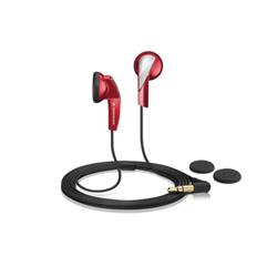 Oreillettes Sennheiser MX 365 - Casque - embout auriculaire - 3.5 mm plug - rouge