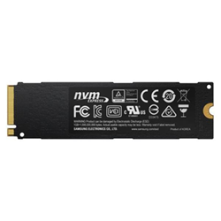 Disque dur interne Samsung 960 EVO MZ-V6E1T0BW - Disque SSD - chiffré - 1 To - interne - M.2 2280 - PCI Express 3.0 x4 (NVMe) - AES 256 bits - TCG Opal Encryption