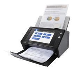 Scanner Fujitsu Network Scanner N7100 - Scanner de documents - Recto-verso - 216 x 355.6 mm - 600 ppp x 600 ppp - jusqu'à 25 ppm (mono) / jusqu'à 25 ppm (couleur) - Chargeur automatique de documents (50 feuilles) - jusqu'à 400 pages par jour - Gigabit LAN