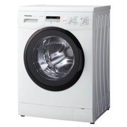 Lave-linge Panasonic NA-107VC5 - Machine à laver - pose libre - largeur : 59.7 cm - profondeur : 54.2 cm - hauteur : 84.5 cm - chargement frontal - 50 litres - 7 kg - 1000 tours/min - blanc