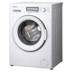 Lave-linge Panasonic NA-127VB6 - Machine à laver - pose libre - largeur : 59.7 cm - profondeur : 54.2 cm - hauteur : 84.5 cm - chargement frontal - 50 litres - 7 kg - 1200 tours/min - blanc