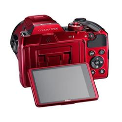 Fotocamera Coolpix b500 Rosso- nikon - monclick.it