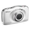 Fotocamera Nikon - Coolpix S33 White Garanzia Nital