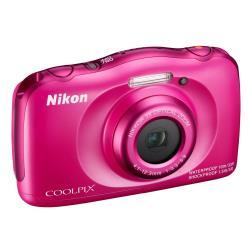 Foto Fotocamera Coolpix S33 Pink Garanzia Nital Nikon