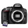 Fotocamera reflex Nikon - D5300 + SD8GB Garanzia Nital 4 anni