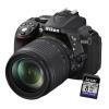 Fotocamera reflex Nikon - D5300 18-105VR Garanzia Nital 4anni