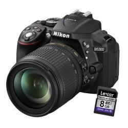 Fotocamera reflex D5300 18-105VR Garanzia Nital 4anni Nero- nikon - monclick.it